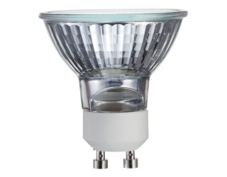 KOR K25322 - 50MR16/120V/FL/GU10 - 50 Watt - 120 Volt - Flood - MR16 - Twist and Lock (GU10) - Cover Glass