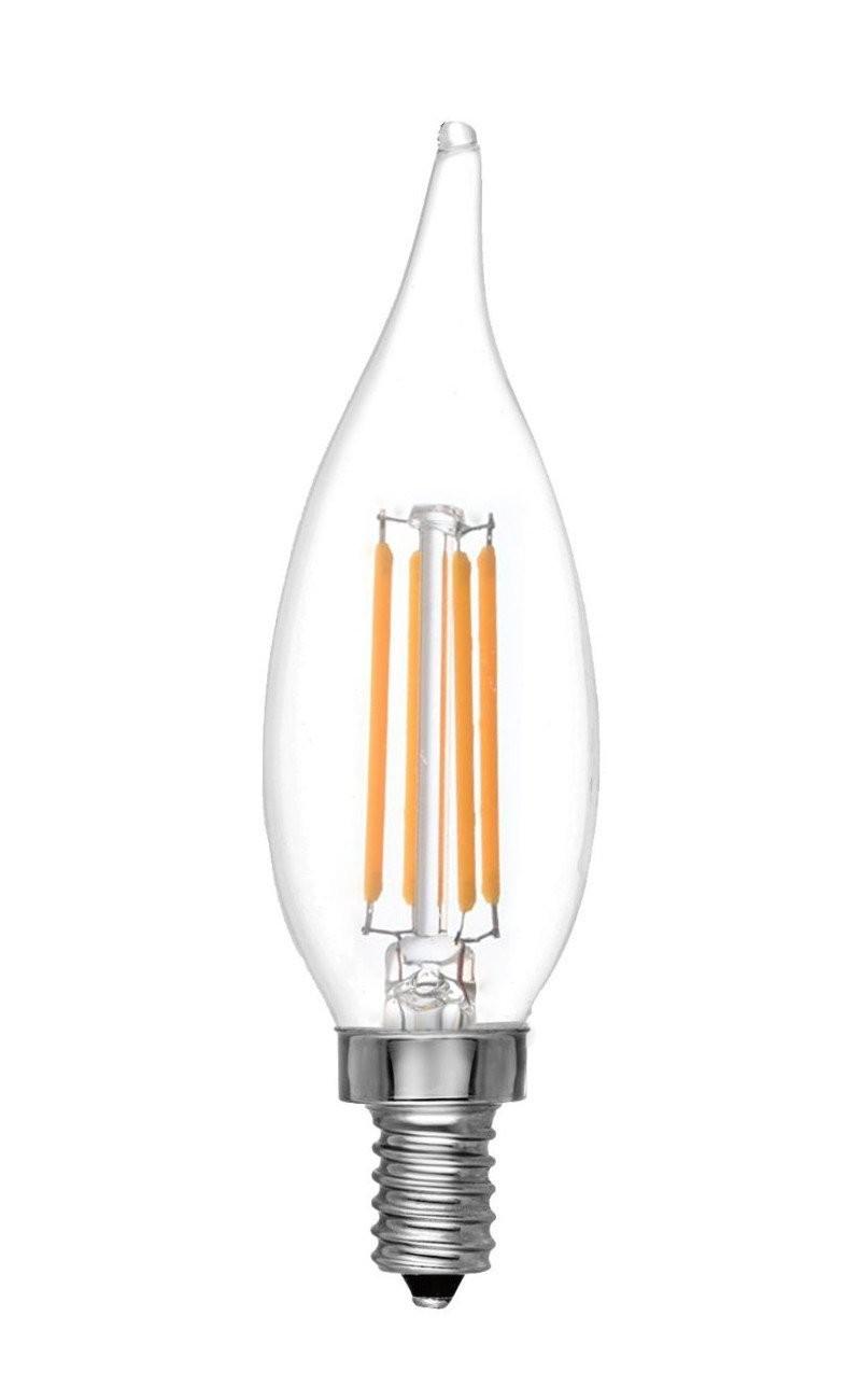 luxrite lr21242 led4cfc cl 65k 4 watt 40 watt equivalent 120 volt led filament bulb. Black Bedroom Furniture Sets. Home Design Ideas