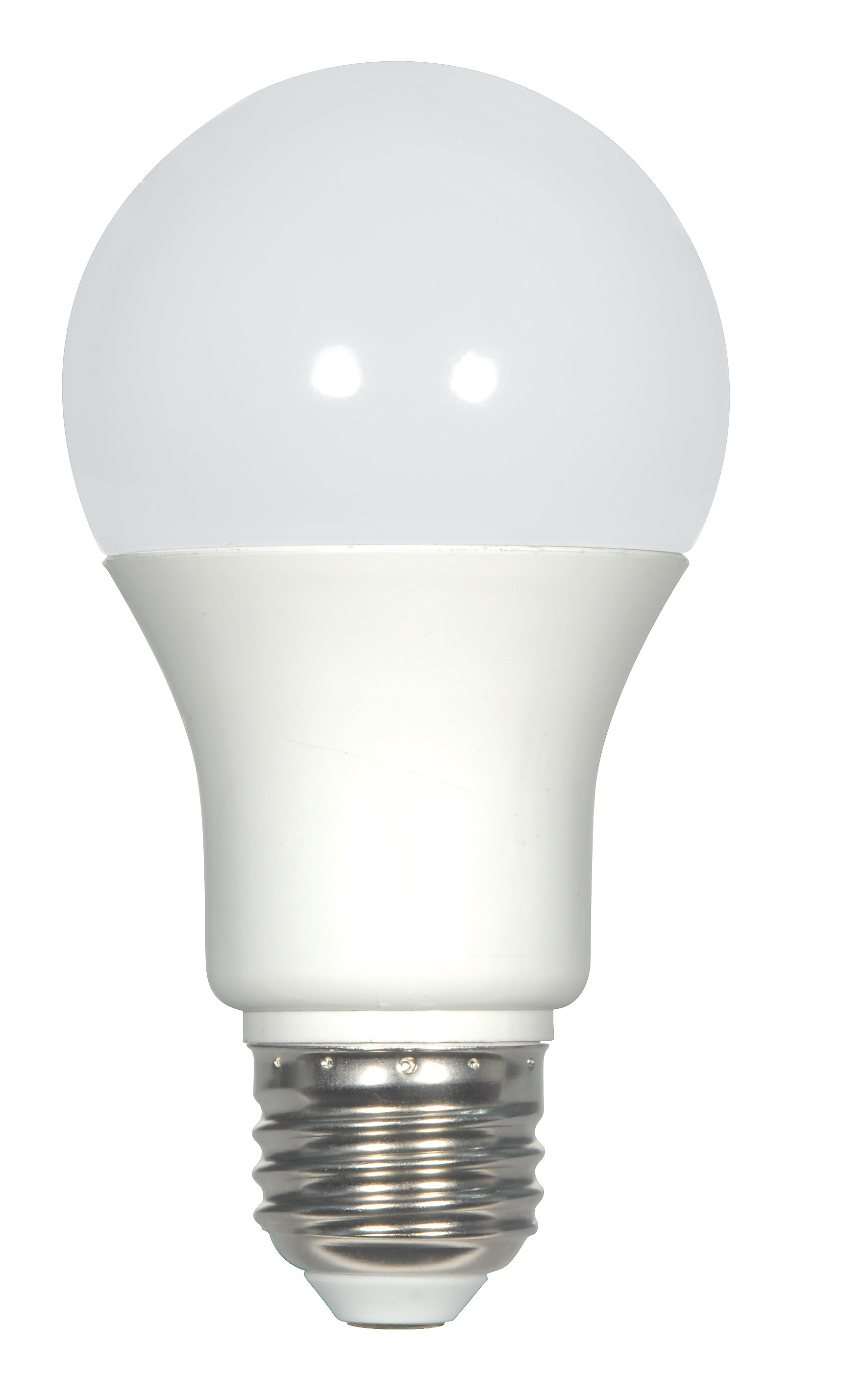 Satco S9213 KolourOne LED 7 6 Watt 120 Volt A19 Medium E26 Fros