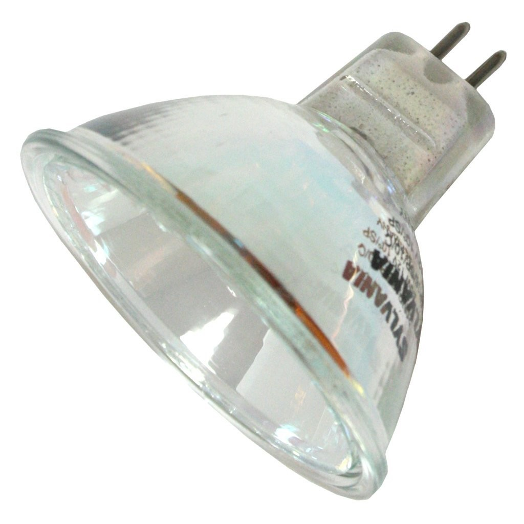Sylvania 54305 20mr16 nsp10 esx c 12v 20 watt halogen mr16 2 pin gu5 3 tru aim Mr16 bulb